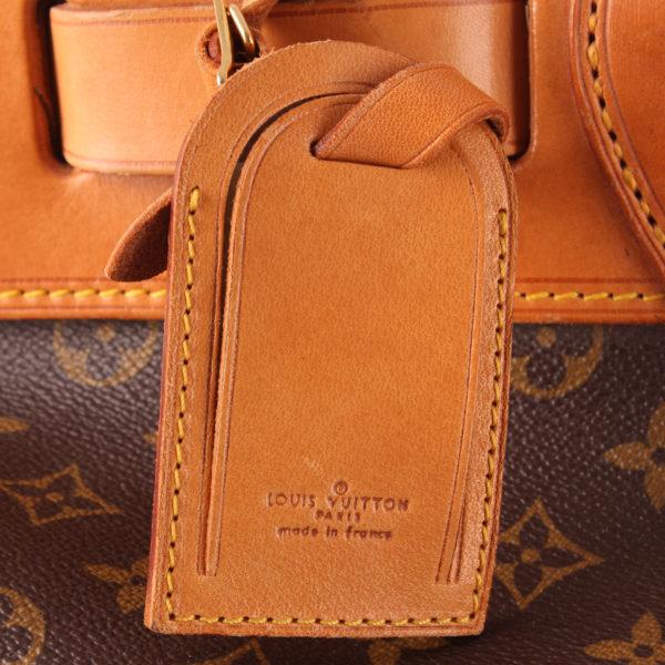 Imagen de la etiqueta de viaje 2 de la bolsa de viaje louis vuitton steamer bag 45 monogram piel natural