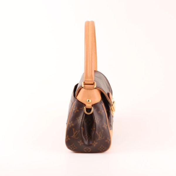 Imagen del lado 1 del bolso al hombro louis vuitton beverly mm monograma