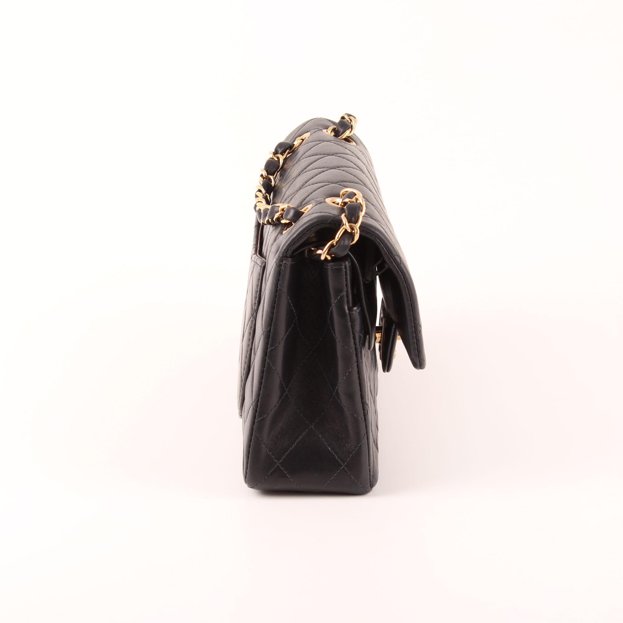 4769753e435 Imagen del lateral 1 del bolso Chanel Classic Double Flap Bag con cadena  doble
