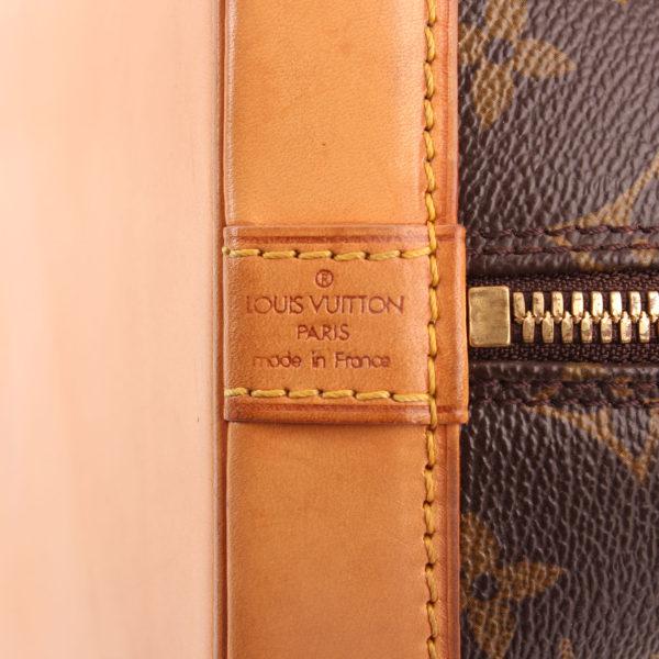 Imagen de la marca del bolso louis vuitton alma pm monogram