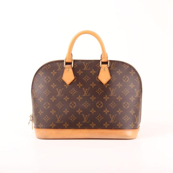 Imagen trasera del bolso louis vuitton alma pm monogram