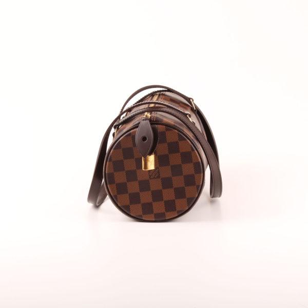 Imagen del lado 1 del bolso louis vuitton papillon damero ébano marrón