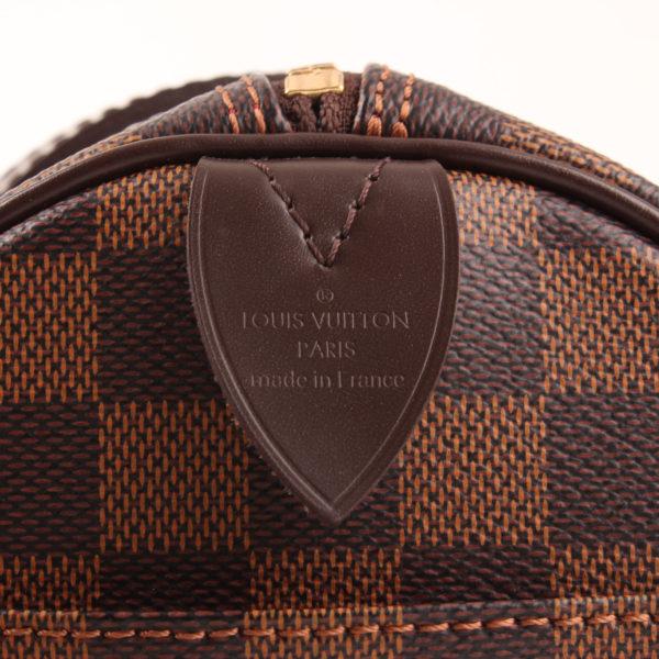 Imagen de la marca del bolso louis vuitton papillon damero ébano marrón