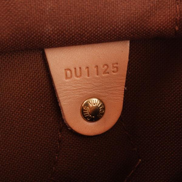 Imagen de la referencia del bolso louis vuitton speedy 30 monogram bandolera piel natural