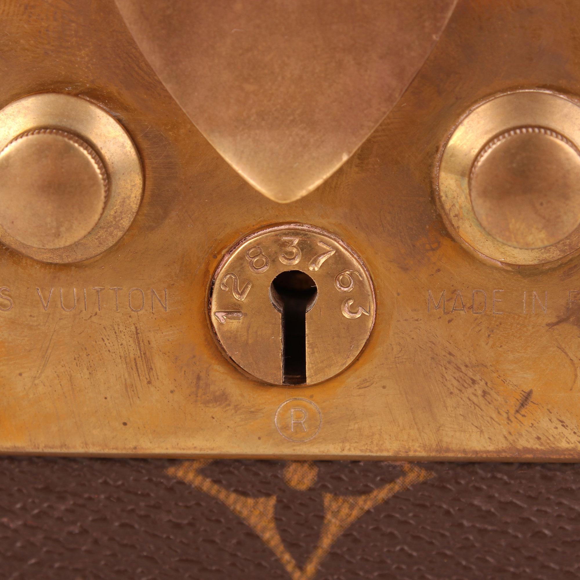 Neceser Cofre Louis Vuitton Vanity Case Monogram I Cbl Bags