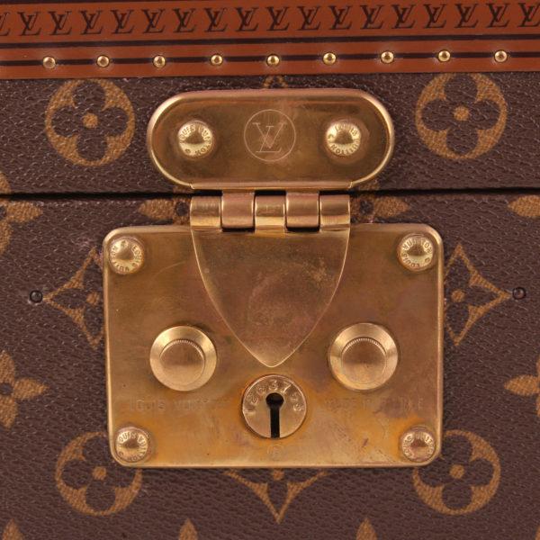 Imagen del cierre S del ouis vuitton cofre neceser vanity case monogram vintage caja farmacia