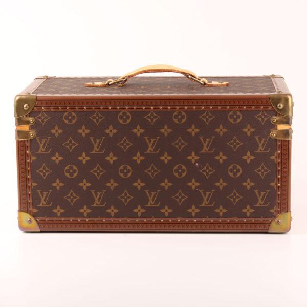 Imagen trasera del louis vuitton cofre neceser vanity case monogram vintage caja farmacia