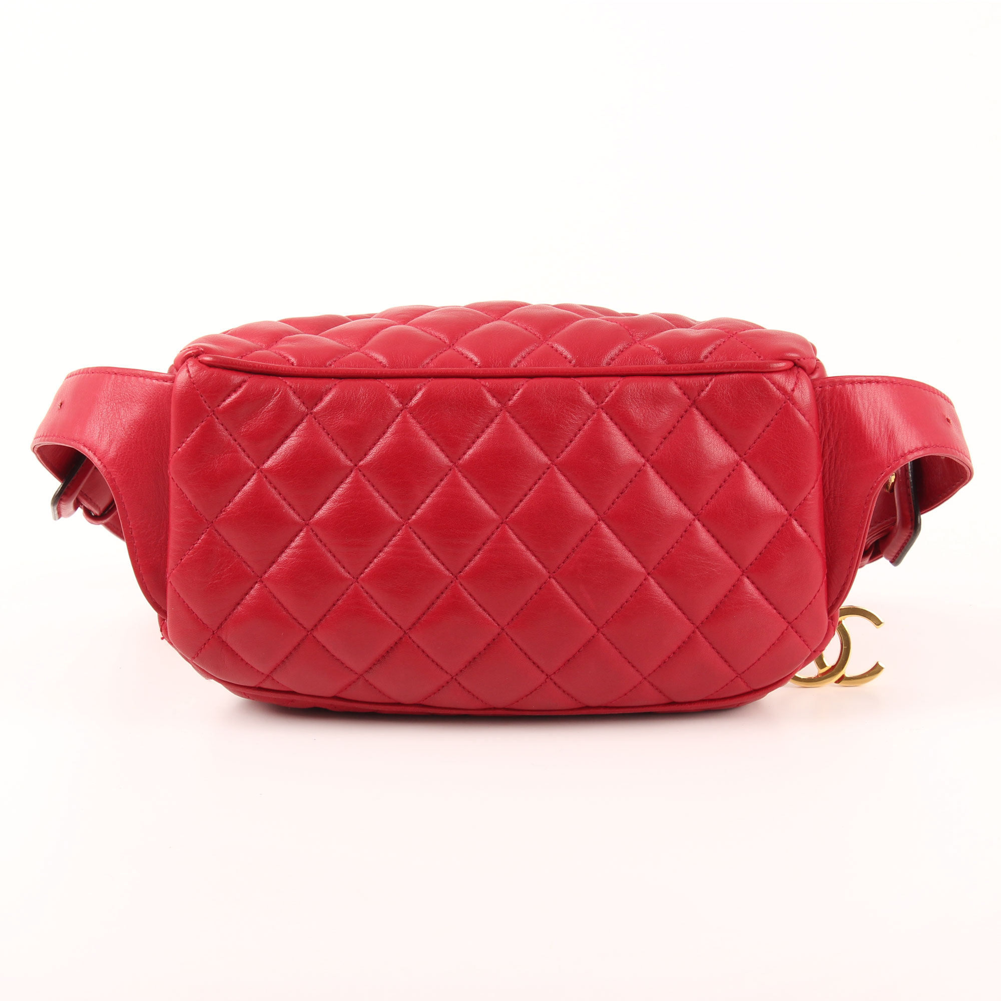 84bce8144 Chanel Belt Pouch Red Retro Fanny Pack I CBL Bags