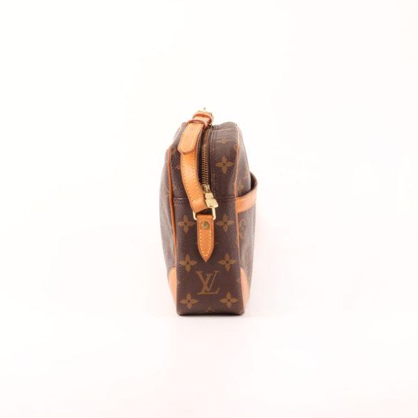 Imagen del lado 2 del bolso bandolera louis vuitton trocadéro 27 mm monogram