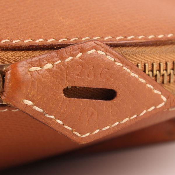 Imagen de la referencia del bolso hermès bolide courchevel piel granulada