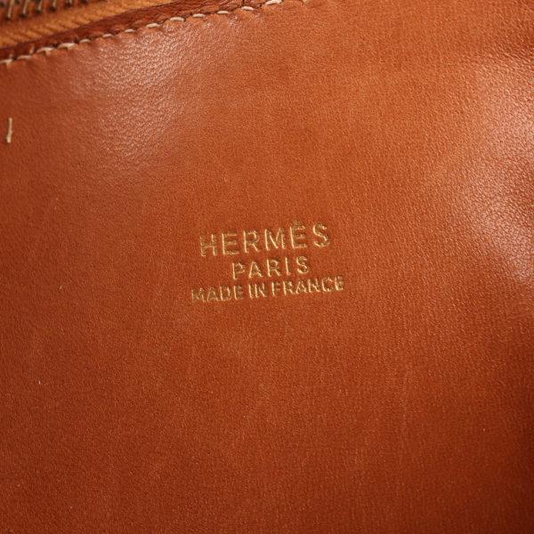 Imagen de la marca del bolso hermès bolide courchevel marrón tostado