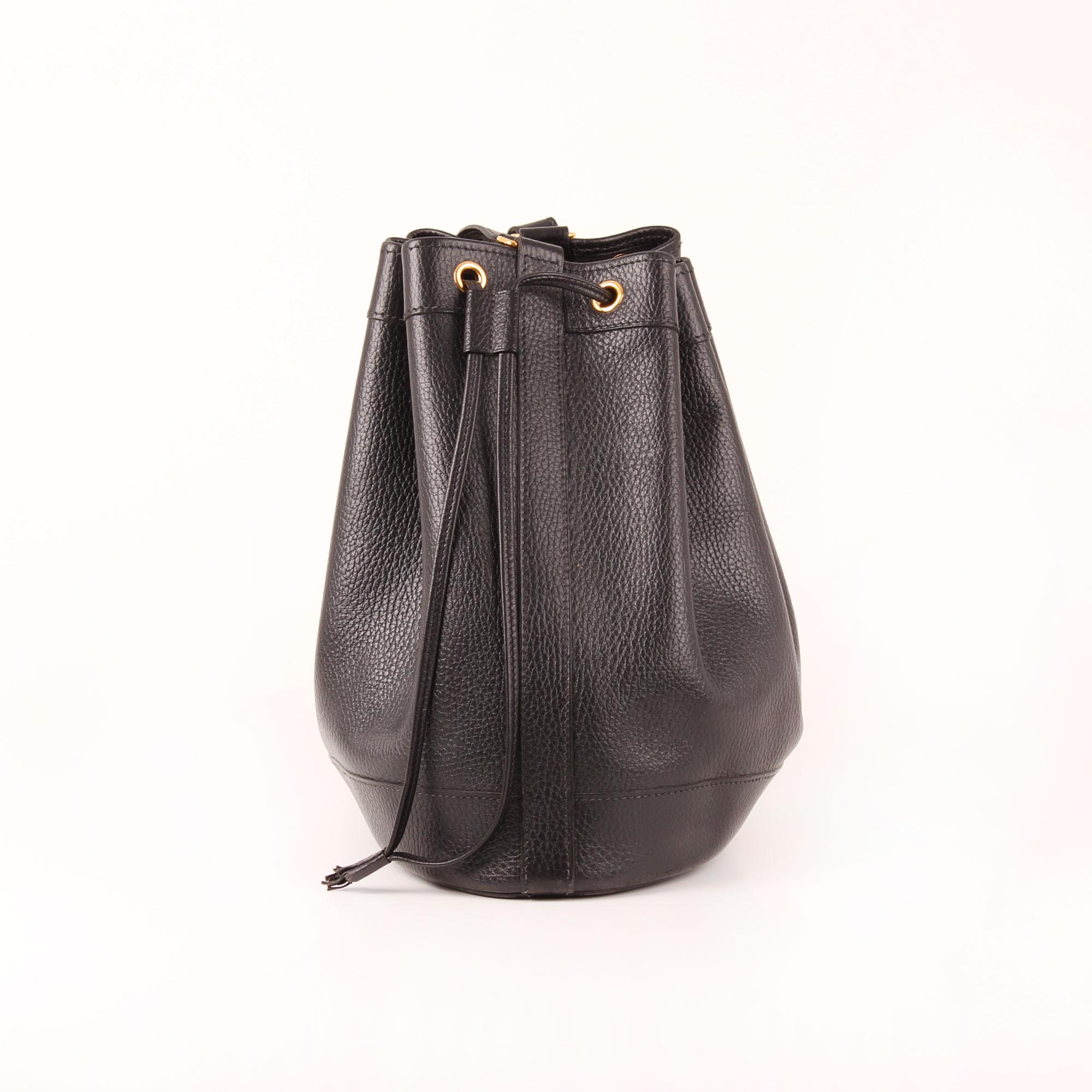 a9655191df9 Imagen del lado 1 del bolso hermès market bucket bag togo