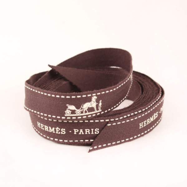 Imagen del lazo del bolso hermès picotin mm lock taupe clémence