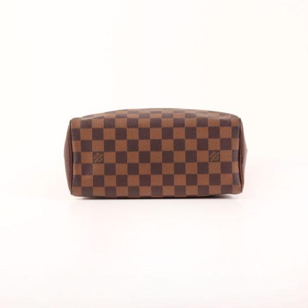 Imagen de la base del bolso louis vuitton brera damier ébène marrón