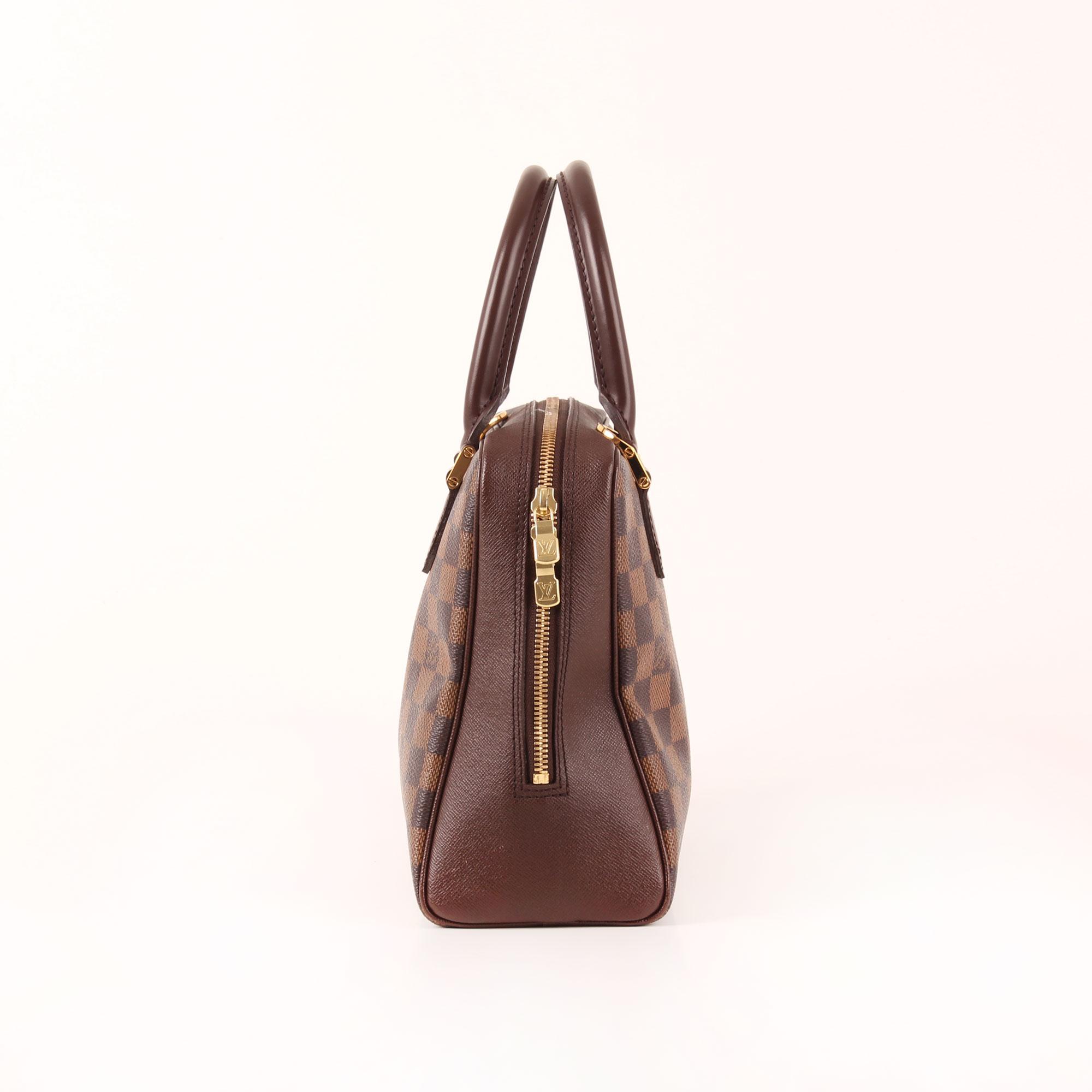 c02f9f075184 Imagen del lado 1 del bolso louis vuitton brera damier ébène marrón