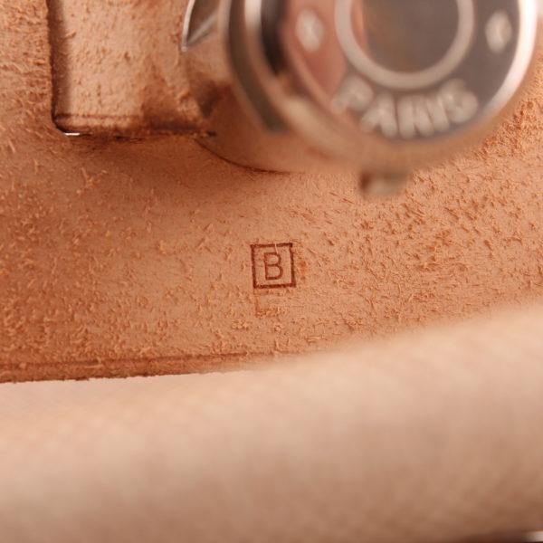 Imagen de la referencia de la bolsa de viaje convertible hermès herbag lona cruda piel natural