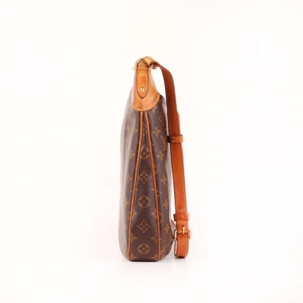 Imagen del lado 1 del bolso bandolera louis vuitton odéon mm monogram