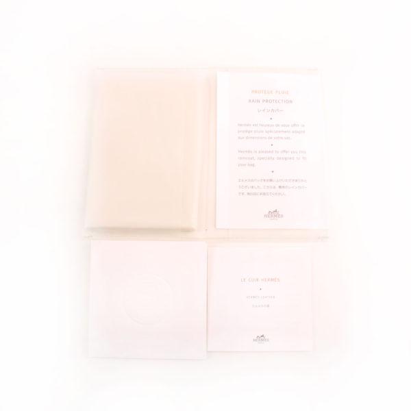 Imagen de la factura del bolso hermes birkin 40 en piel marron