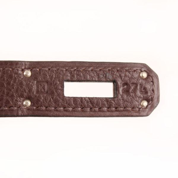Imagen de la referencia del bolso hermes birkin 40 en piel togo marron