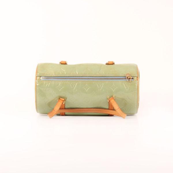 Imagen de la cremallera del bolso louis vuitton bedford vernis verde