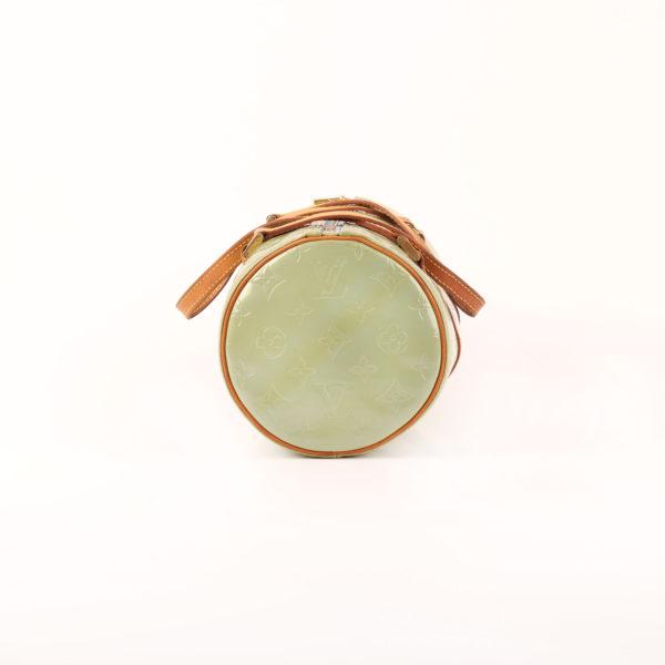 Imagen del lado 1 del bolso louis vuitton bedford vernis verde