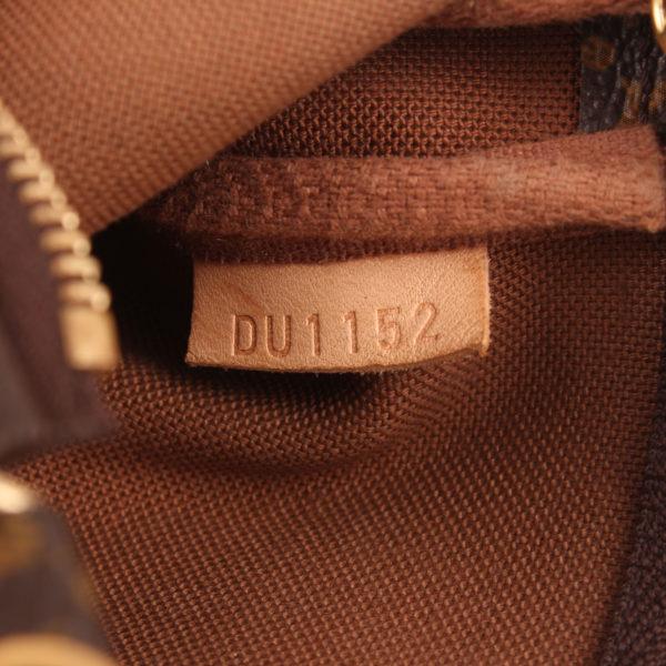 Imagen de la referencia del bolso louis vuitton mini pochette accessoire monogram cadena