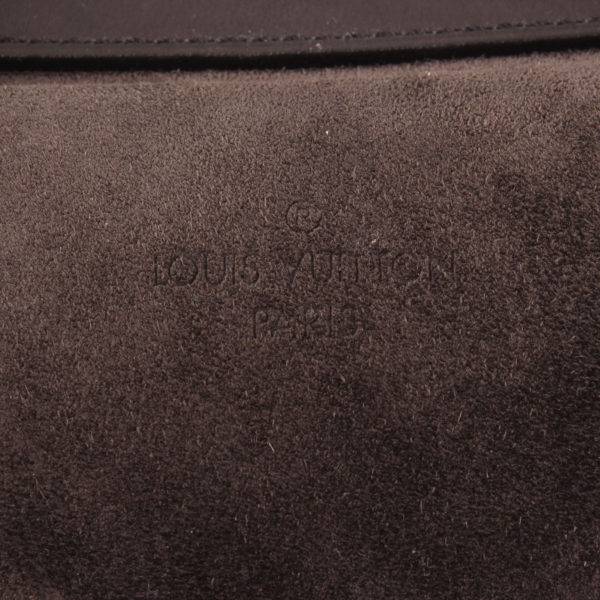 Imagen del sello del bolso louis vuitton sofia coppola mm suede asphalt