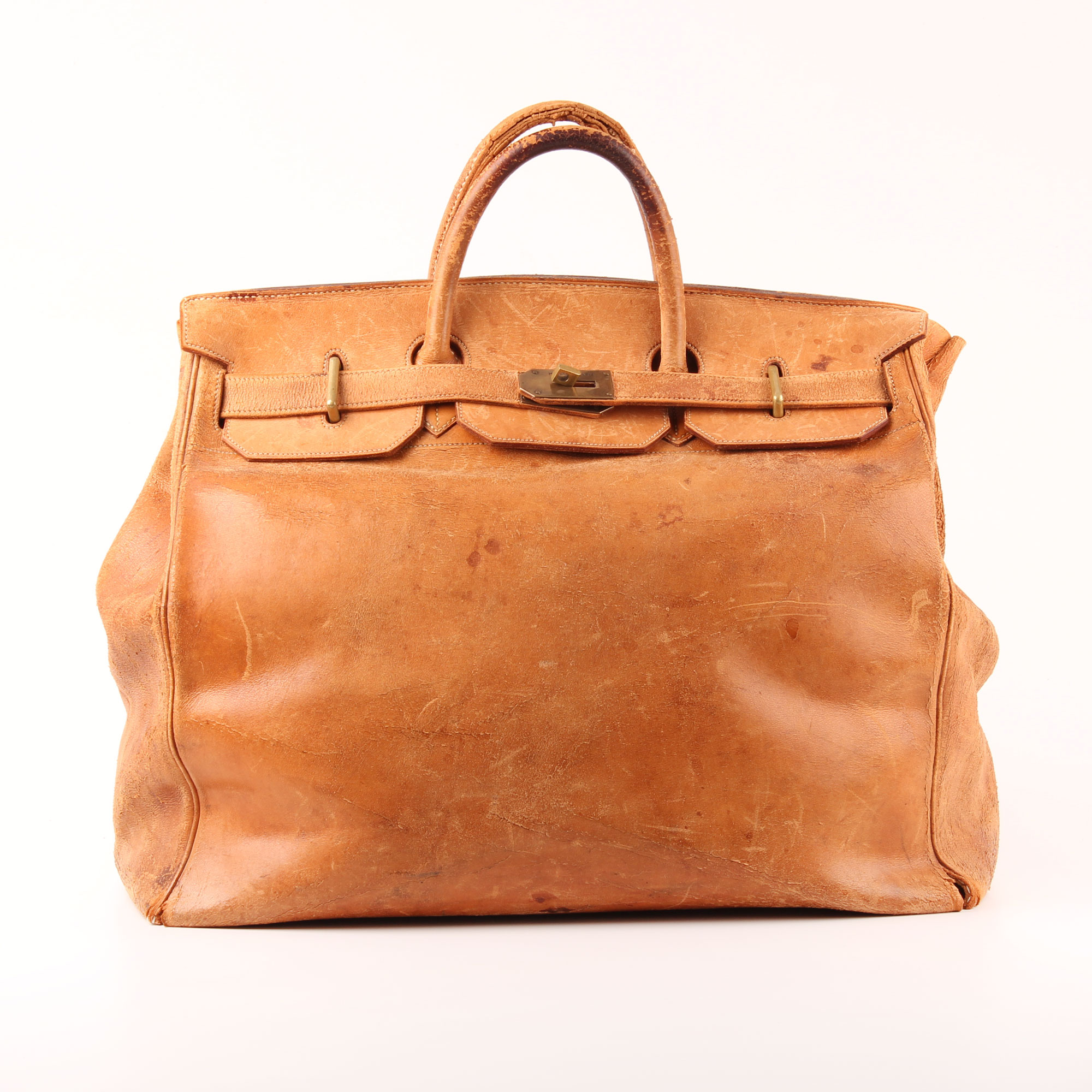 Hermès Travel Bag Haut à Courroies Natural Gold I CBL Bags 087966aedb7ff