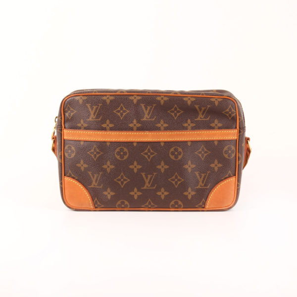 Front image of strap bag louis vuitton trocadéro 27 mm monogram