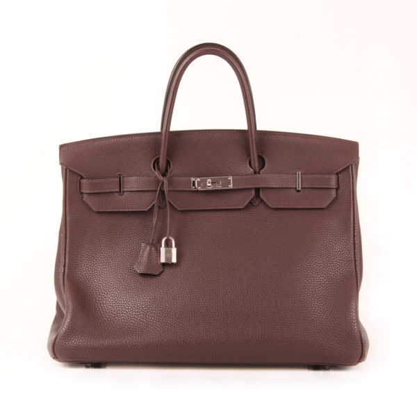 Image from Hermès Birkin bag 40 togo brown