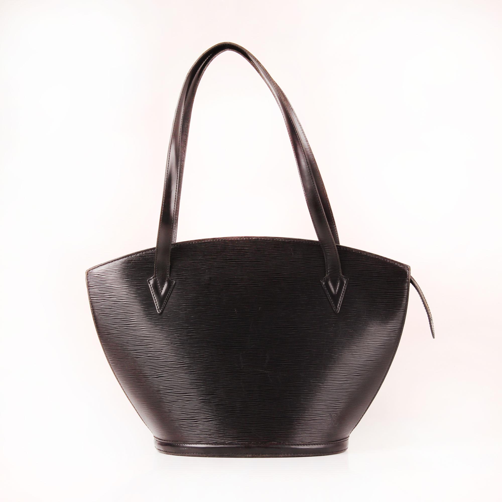 Front image of bag louis vuitton saint jacques gm épi black ba67cac2d66ca