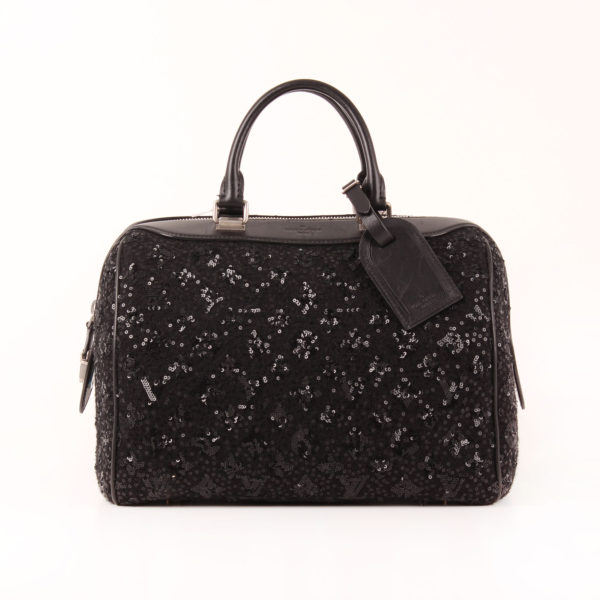 Front image of bag louis vuitton speedy sunshine express monogram sequin