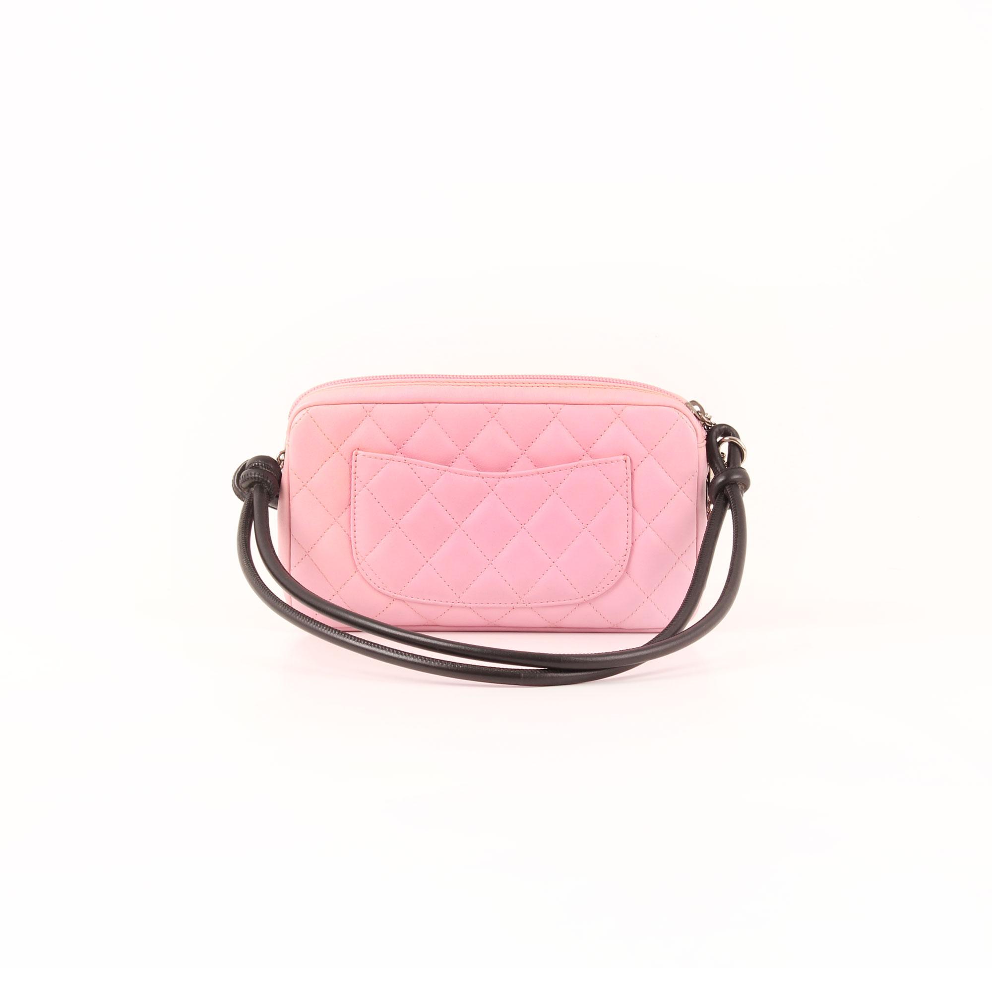0a625f55ddfd Imagen del bolso chanel cambon quilted pochette rosa