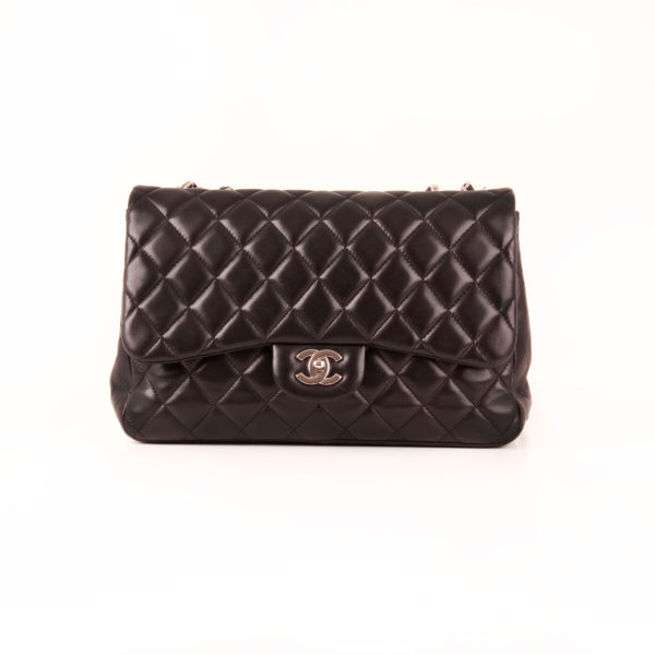 Front 1 image of the large flap chanel bag