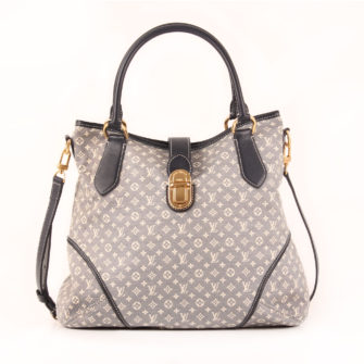 Image from the front of Louis Vuitton Idylle azul bag