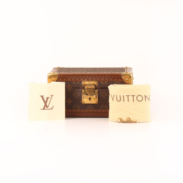 Imagen del dustbag del coffret trésor 24 louis vuitton