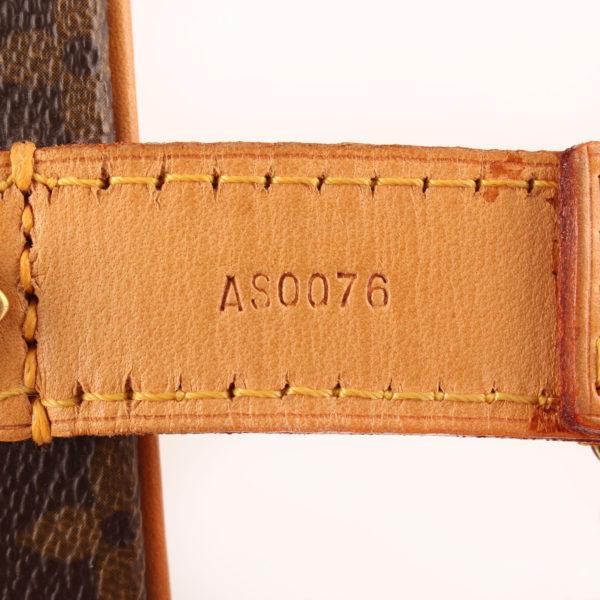 Imagen del serial de la sombrerera louis vuitton cabina monogram