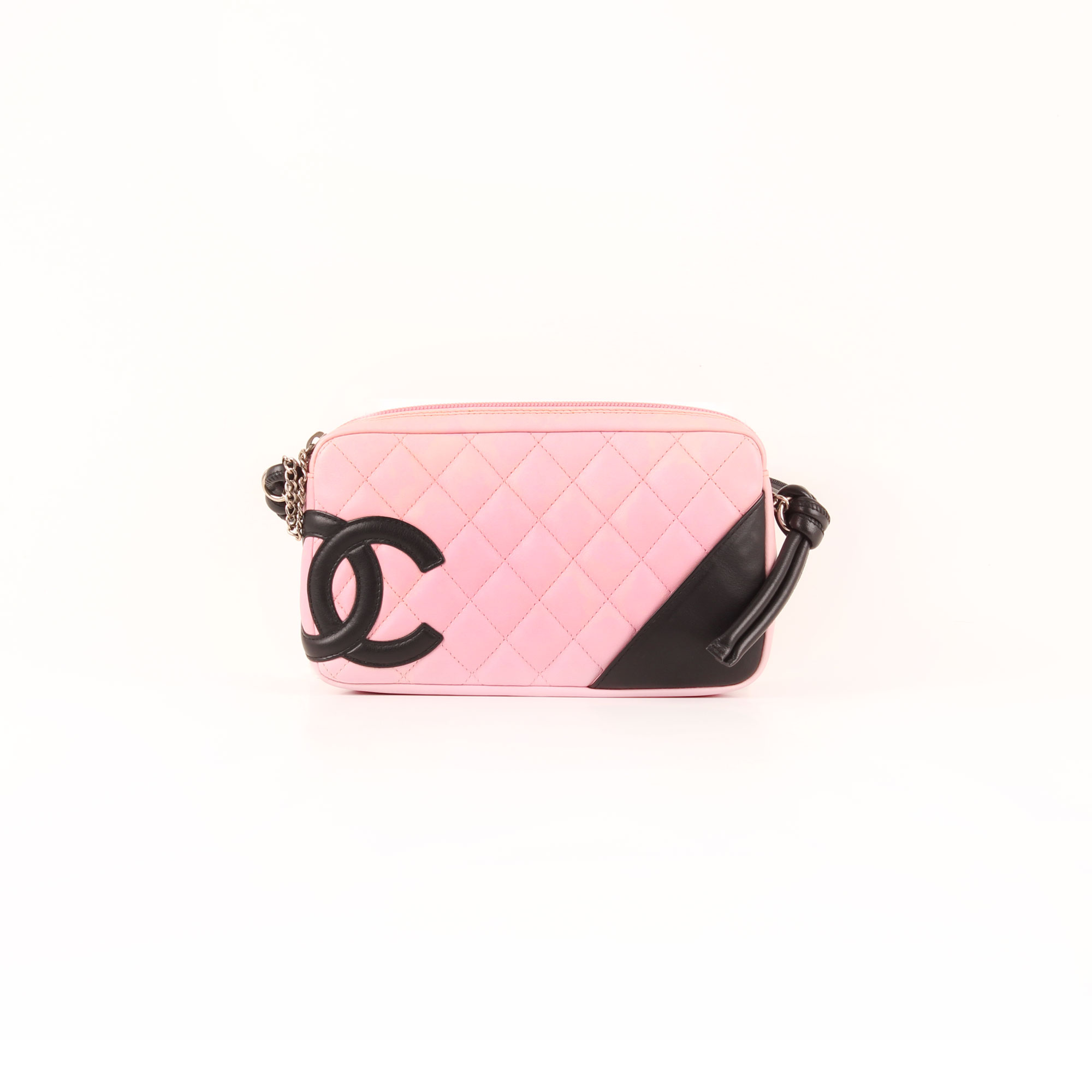 76bb8a514999 Front image of chanel cambon quilted pochette