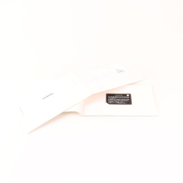 Imagen de la tarjeta del bolso chanel double flap caviar beige
