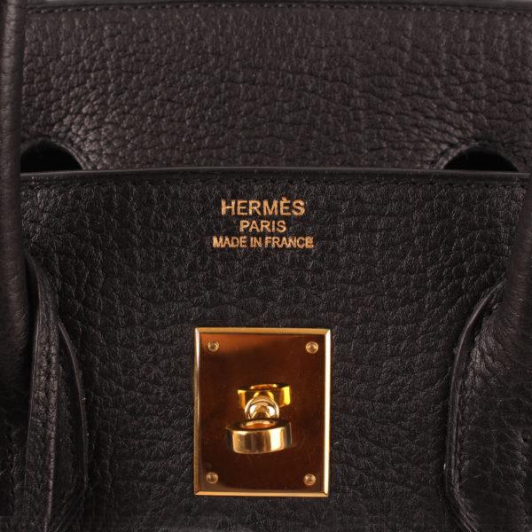 Imagen de la marca bolso hermes birkin 35 negro