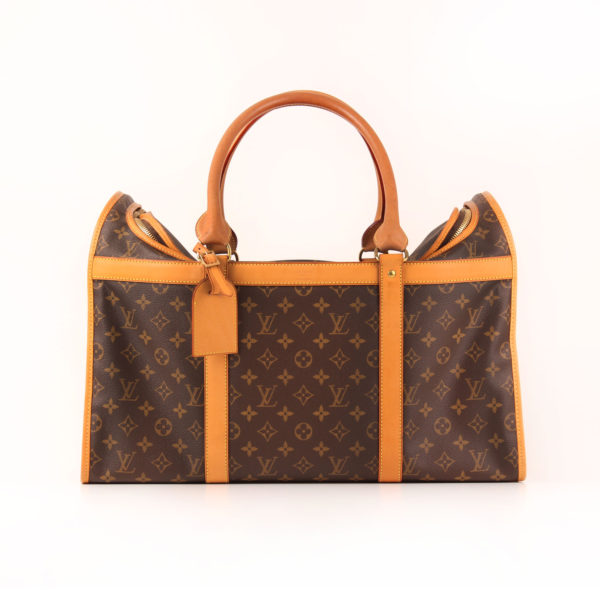 Imagen del lado 1 de louis vuitton dog carrier 50 monogram