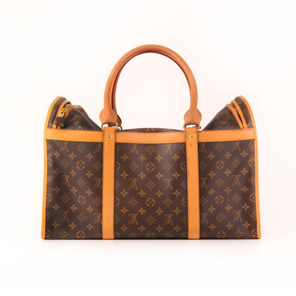 Imagen del lado 2 de louis vuitton dog carrier 50 monogram