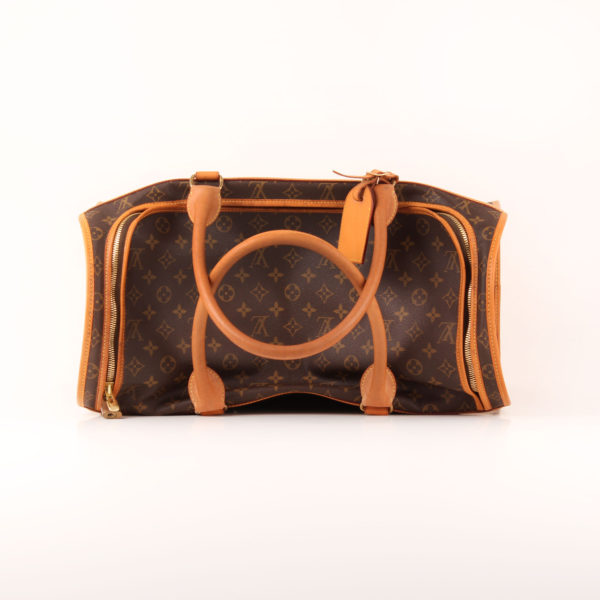 Imagen superior de louis vuitton dog carrier 50 monogram