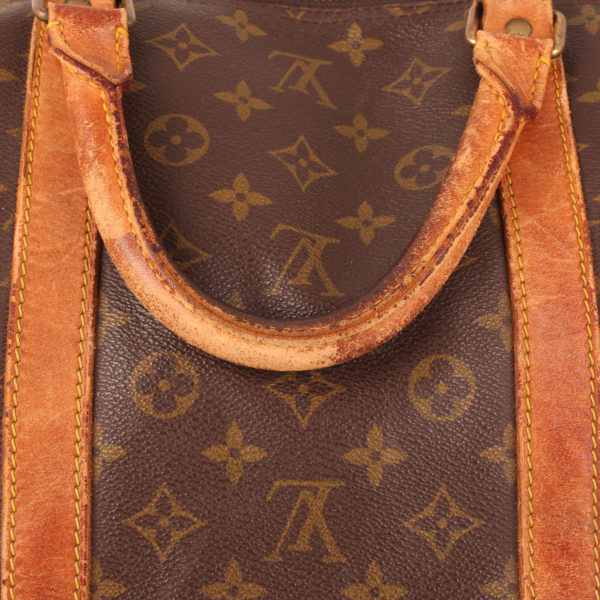 Imagen de las asas 2 de la bolsa louis vuitton keepall monogram 60
