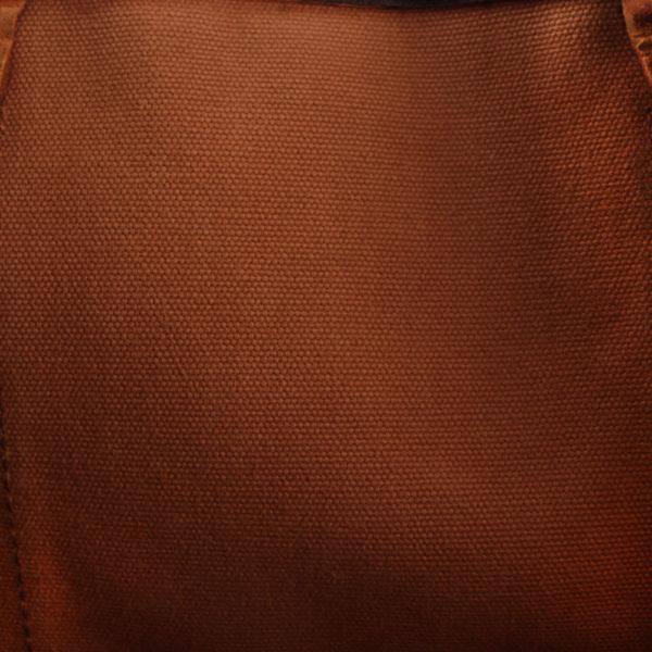 Imagen del forro de la bolsa louis vuitton keepall monogram 60