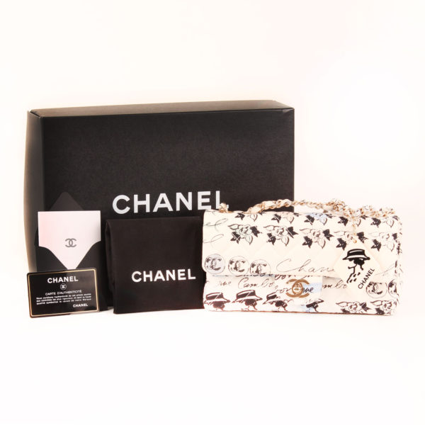Imagen del packaging del bolso chanel coco fabric