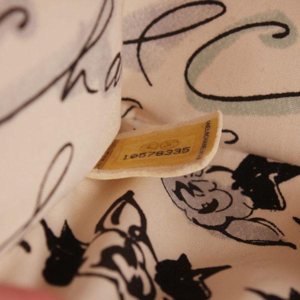 Imagen del serial del bolso chanel coco fabric