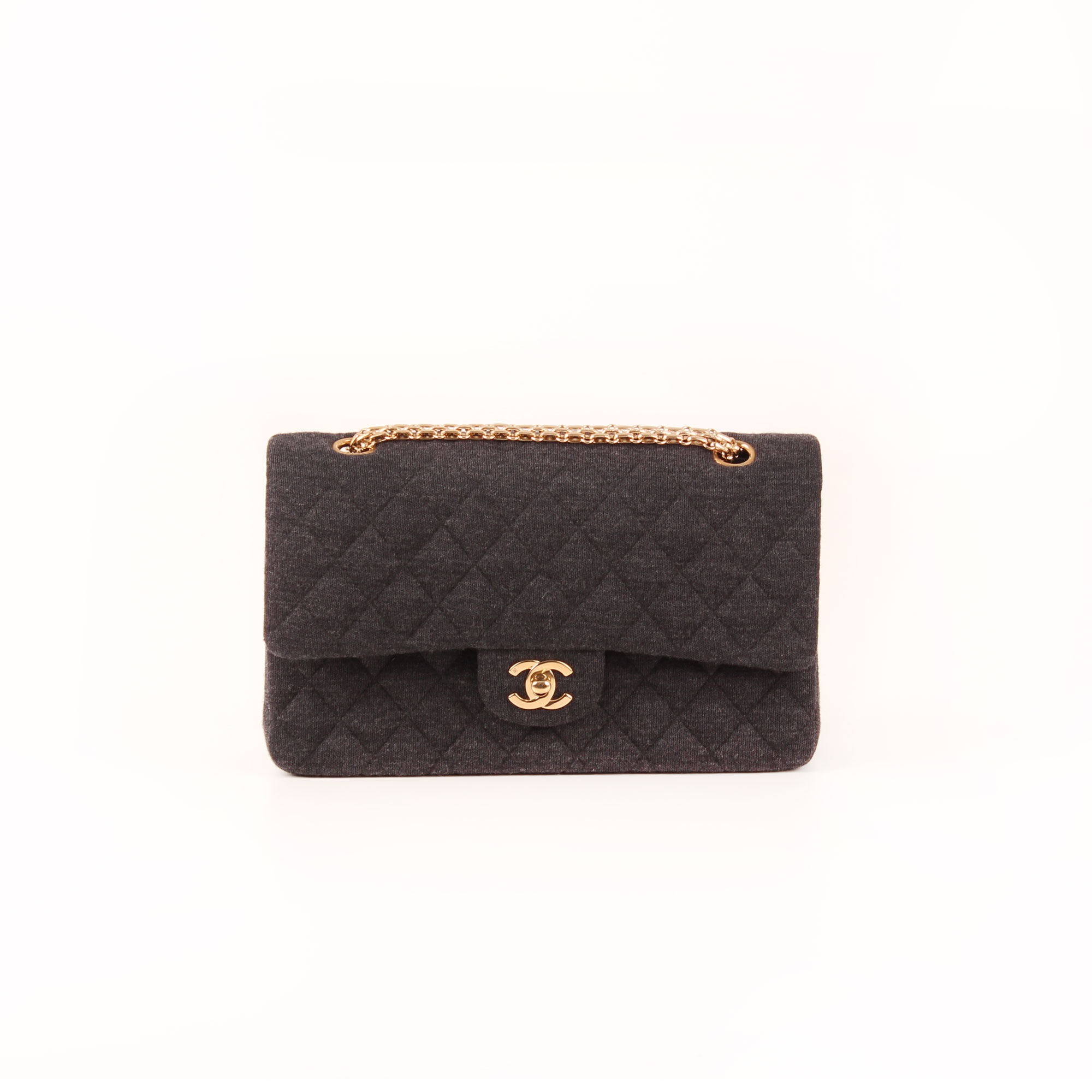 2b6e427fbf43 Chanel Quilted Jersey Timeless Double Flap I CBL Bags