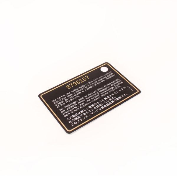 Imagen de la tarjeta del bolso chanel maxi quilted marron