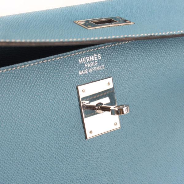 Brand image of hermes bag kelly 35 celeste